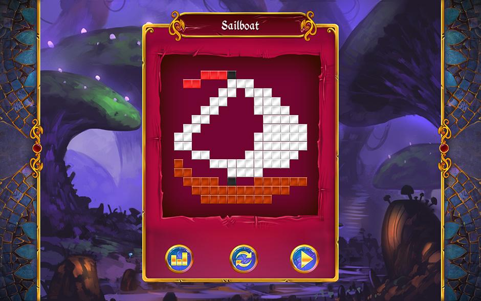 Mystery Mosaics Sporewood Puzzle 7
