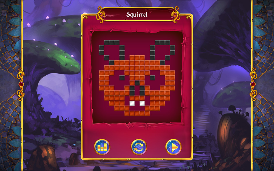 Mystery Mosaics Sporewood Puzzle 8