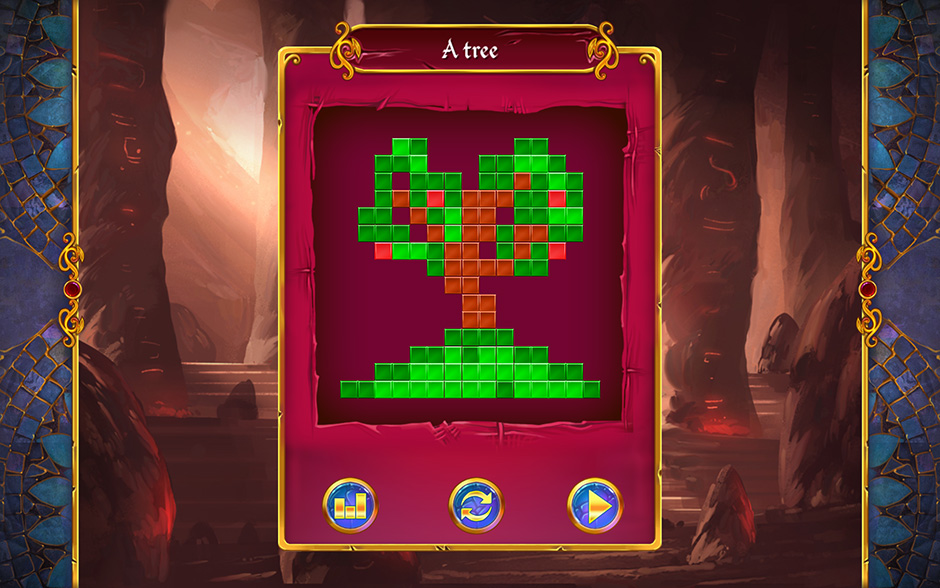 Mystery Mosaics Tomb of Myrra Sar Puzzle 4