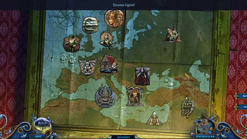 Royal Detective - Lord of Statues Mythical Creature Map Puzzle Solution