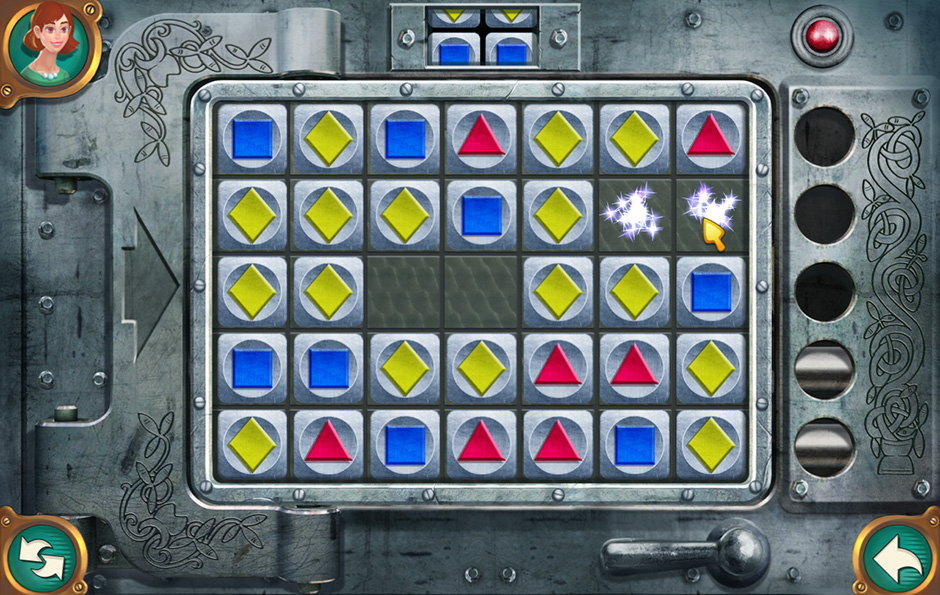 The Hunt for Red Panda Tile Match Minigame