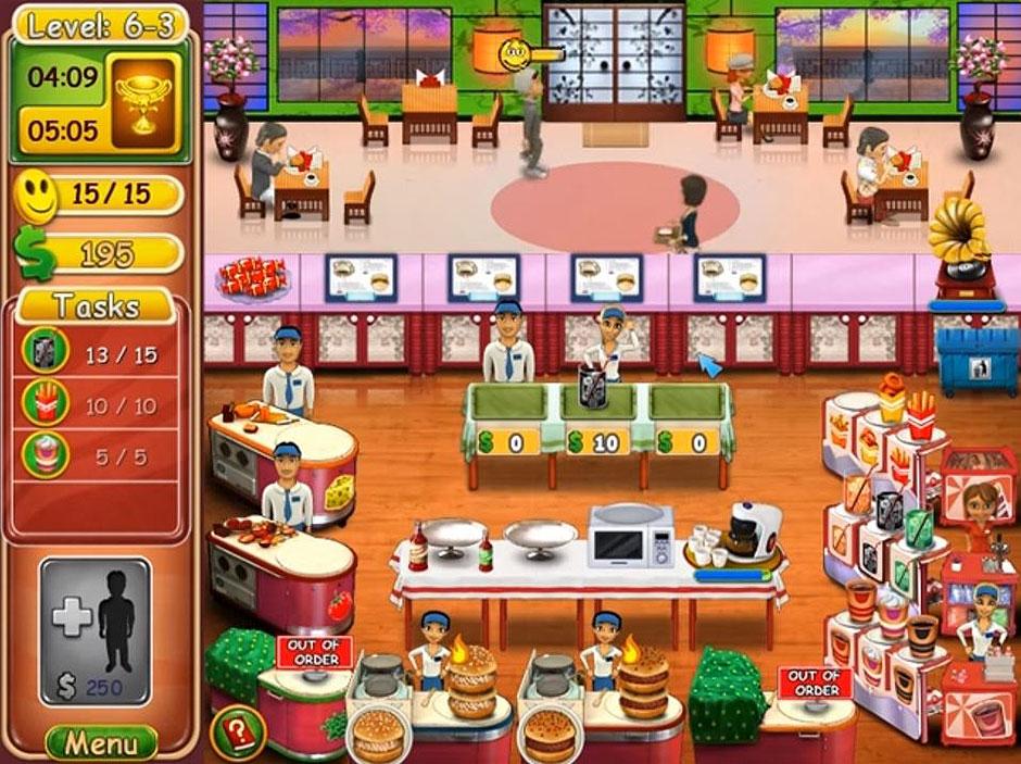 Burger Bustle – Ellies Organics Level 6-3