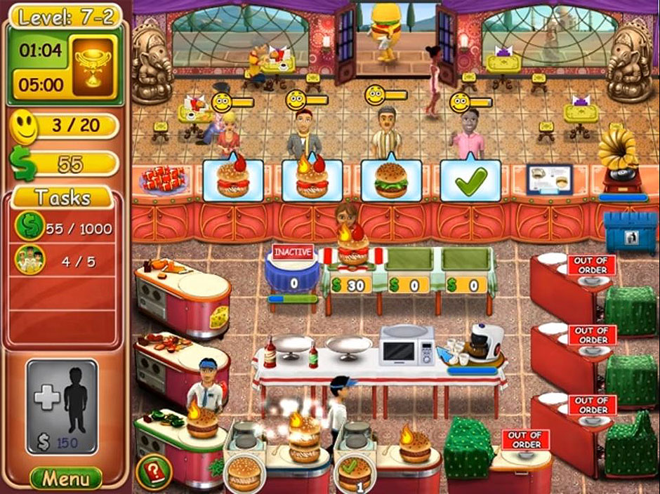 Burger Bustle – Ellies Organics Level 7-2