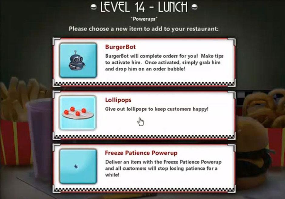 Burger Shop 2 - Recipes