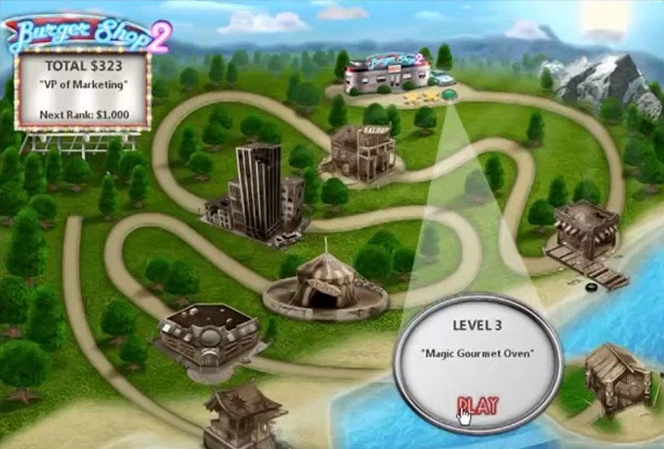 Burger Shop 2 - Restaurant Map