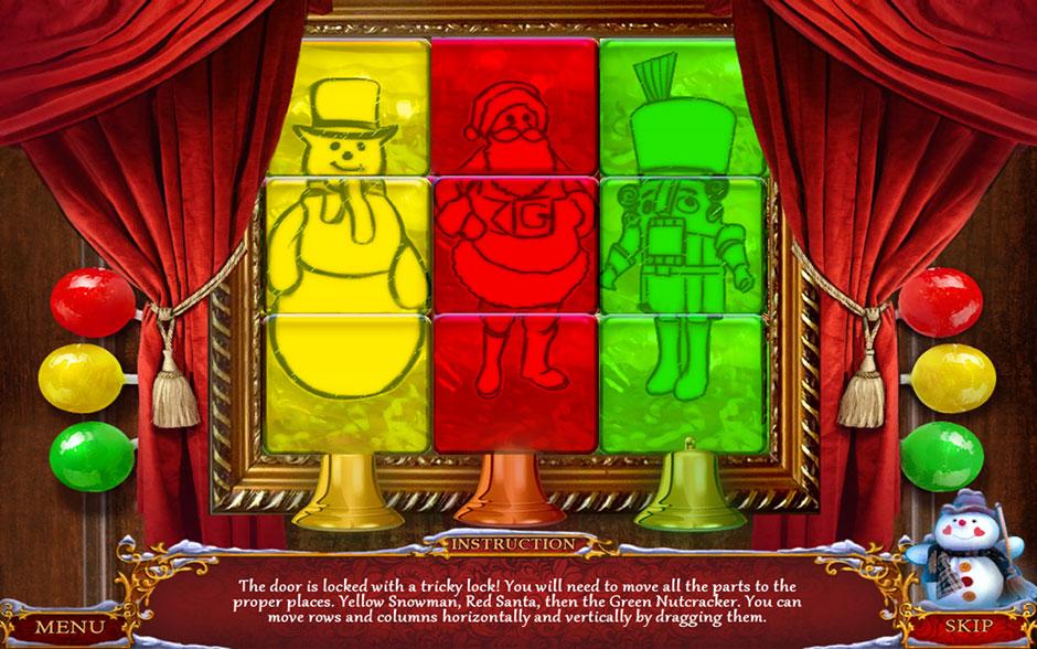 Christmas Adventure - Candy Storm Door Puzzle