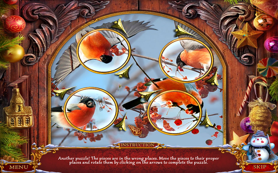 Christmas Adventure - Candy Storm Finch Door Puzzle Solution
