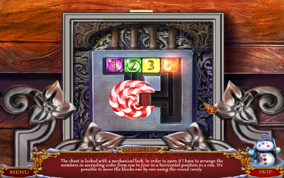 Christmas Adventure - Candy Storm Number Lock Puzzle Solution