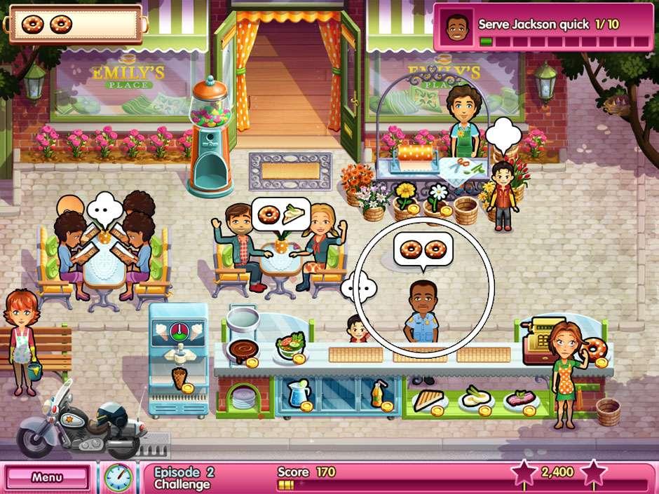 Delicious - Emilly's wonder wedding - Episode 2 Officer Jackson
