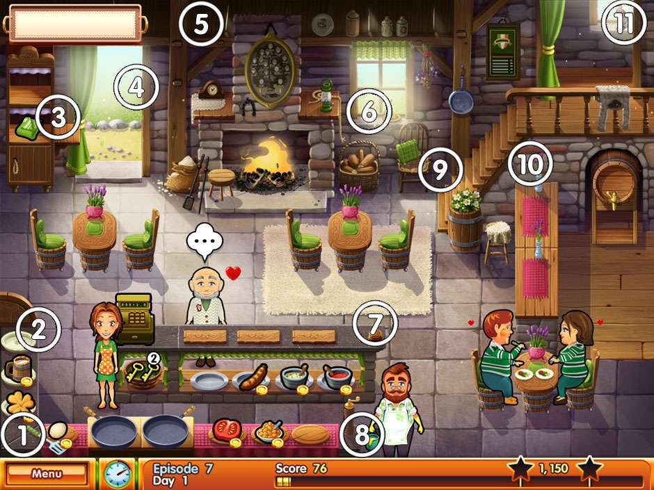 Delicious - Emilly's wonder wedding - Restaurant 2 All Mice Locations