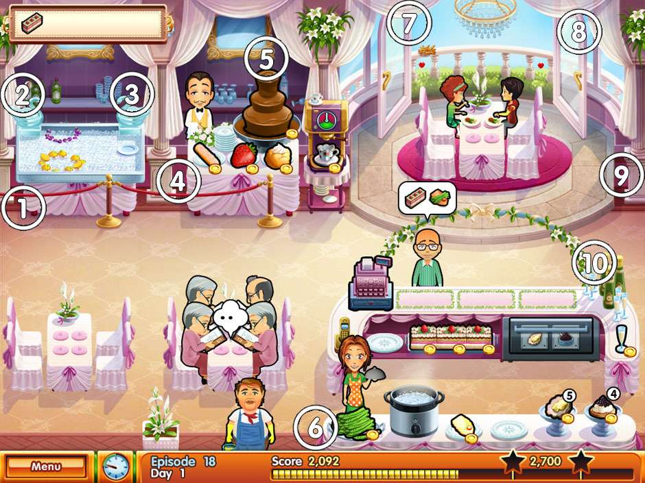 Delicious - Emilly's wonder wedding - Restaurant 4 - All Mice Locations