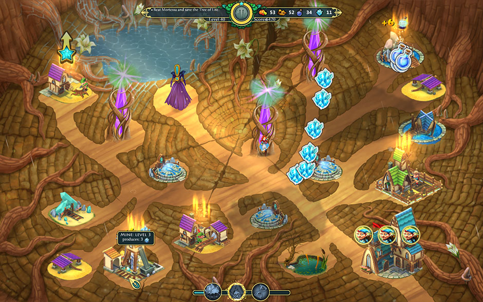 Elven Legend 2 - The Bewitched Tree Level 40 - Fighting Mortessa