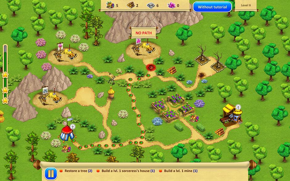 Gnomes Garden 2 - Path Highlighting