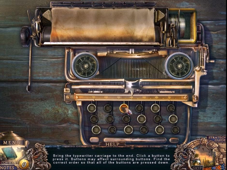Grim Facade Sinister Obsession - Typewriter
