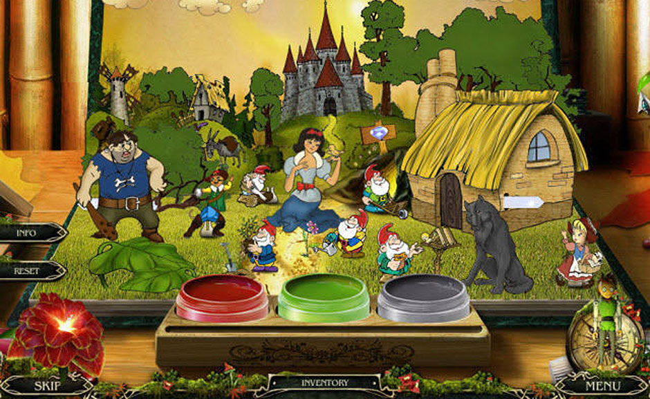 Grim Tales – The Wishes - Painting Puzzle Solution