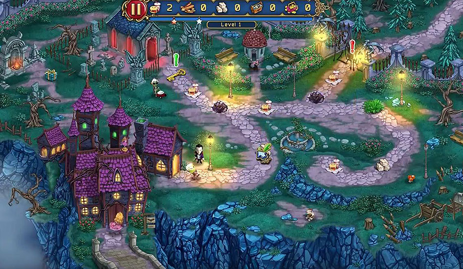 Incredible Dracula - Chasing Love - Level 1 - Gather The Resources On The Road