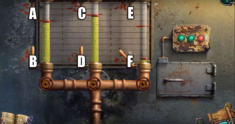 Mystery of the Ancients - Curse of the Black Water Chapter 4 - Knife Switch Puzzle