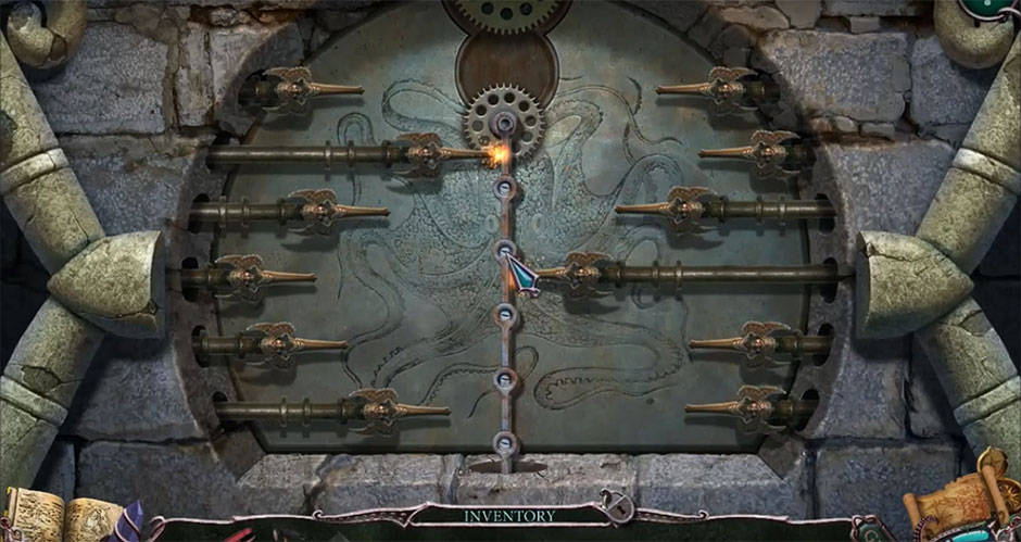 Mystery of the Ancients - Curse of the Black Water Chapter 4 - Metal Stake Puzzle