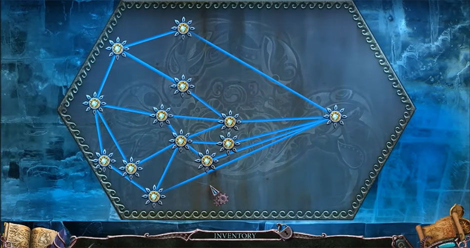 Mystery of the Ancients - Curse of the Black Water Chapter 6 - Star Puzzle