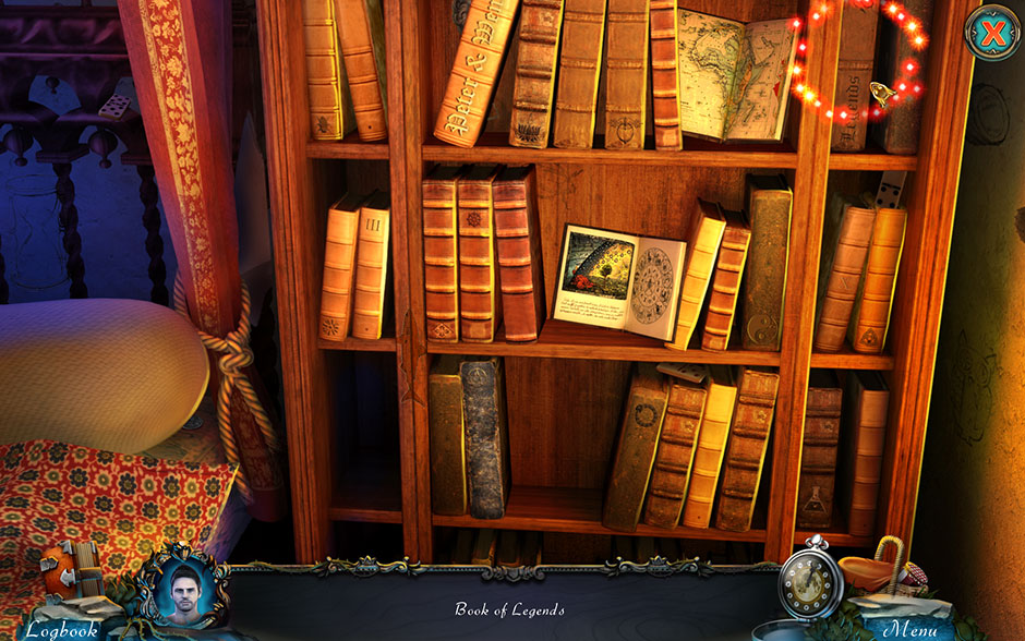 Red Riding Hood - Star-Crossed Lovers Hidden Object Scene Book of Legends Location