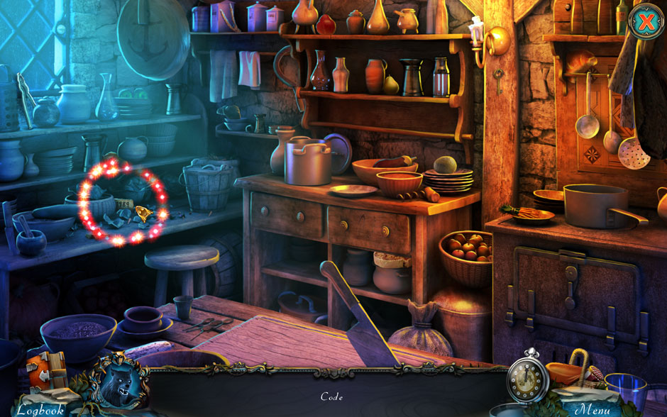 Red Riding Hood - Star-Crossed Lovers Hidden Object Scene Code Location