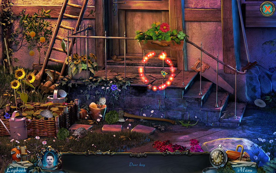 Red Riding Hood - Star-Crossed Lovers Hidden Object Scene Door Key Location