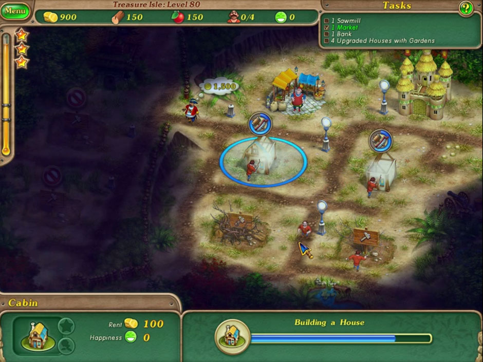 Royal Envoy 3 - Chapter 11 Treasure Isle level 80