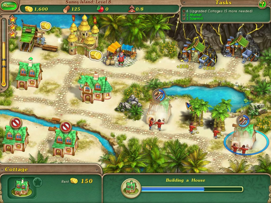 Royal Envoy 3 - chapter 2 Sunny Island level 8