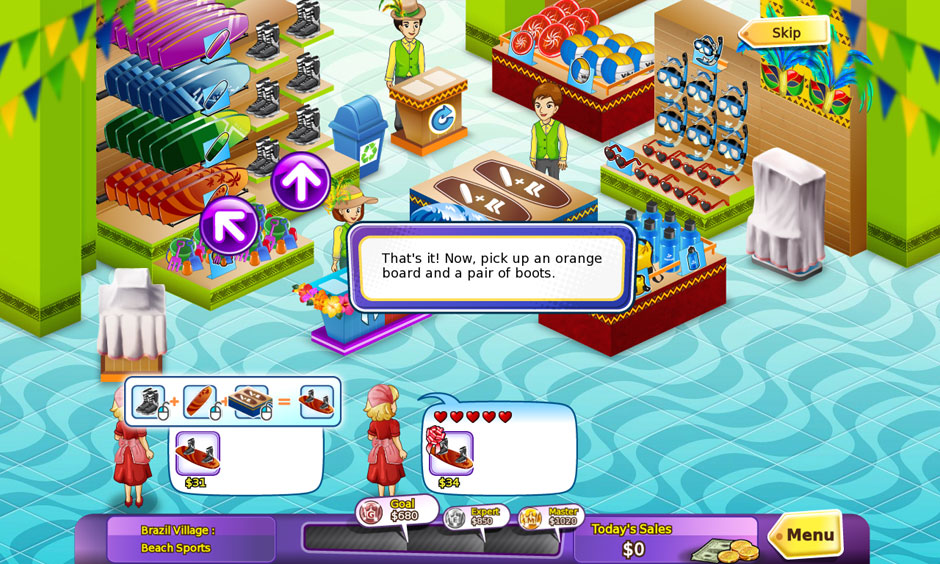Shop-n-Spree – Shopping Paradise Assembly Station