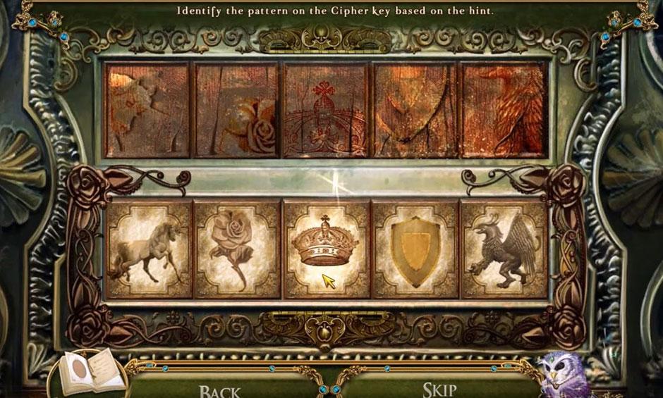 Awakening - The Skyward Castle - Cipher Key Puzzle