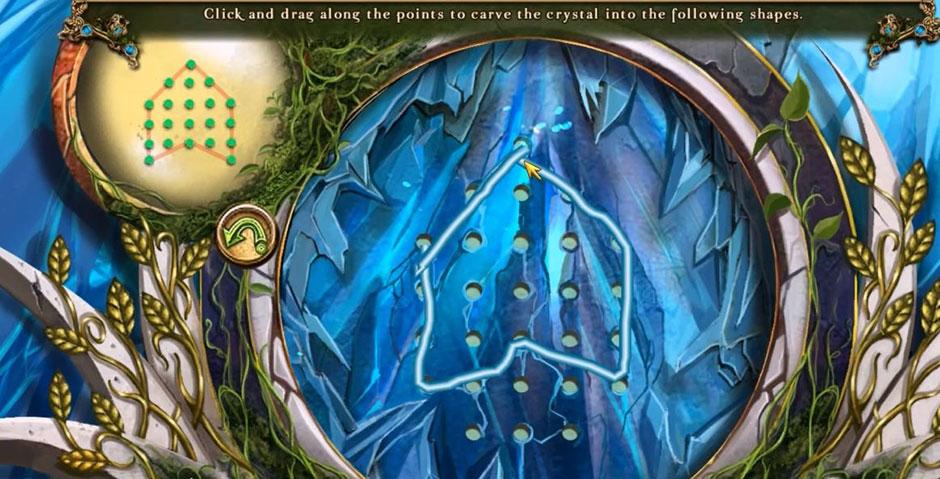 Awakening - The Skyward Castle - Crystal Solution
