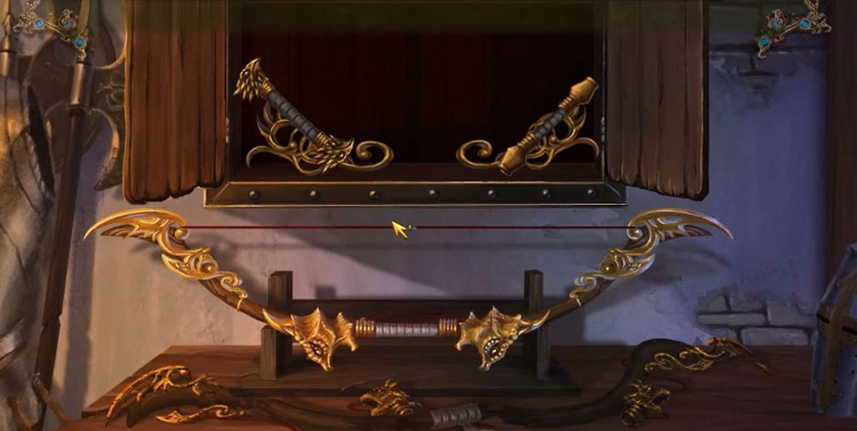 Awakening - The Skyward Castle - GoldLeaf Bow Solution
