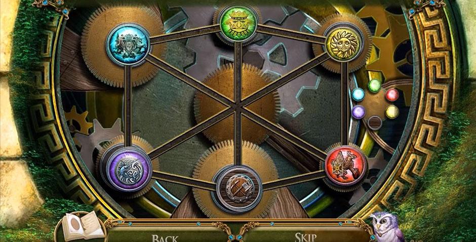 Awakening - The Skyward Castle - Jeweled Emblems Solution