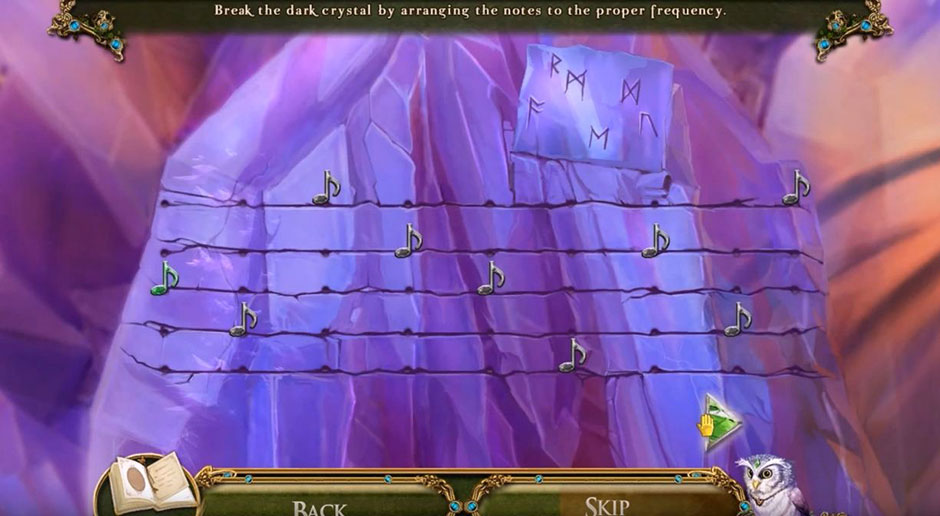 Awakening - The Skyward Castle - Musical Notes