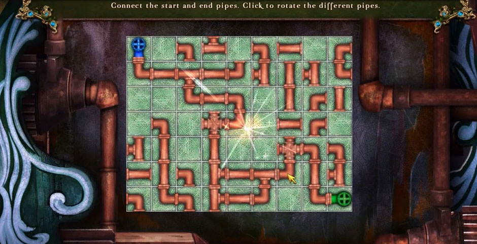Awakening - The Skyward Castle - Pipes Puzzle Solution