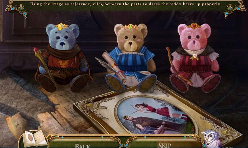 Awakening - The Skyward Castle - Teddy Bears Solution