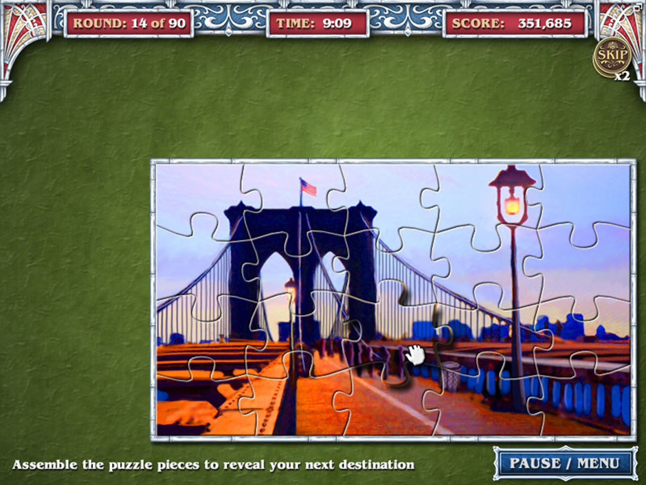 Big City Adventure – New York City – Round 14 Puzzle Solution