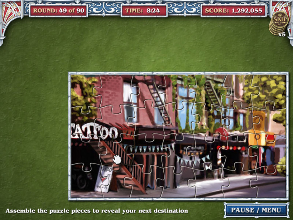 Big City Adventure – New York City – Round 49 Puzzle Solution