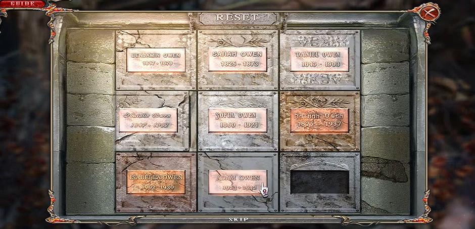 Dark Dimensions - City of Ash - Puzzle Solution