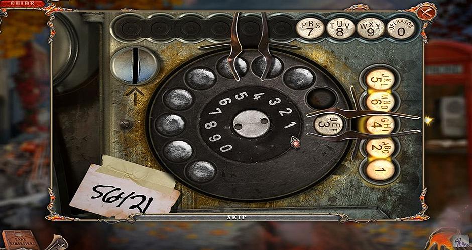Dark Dimensions - City of Ash - Telephone