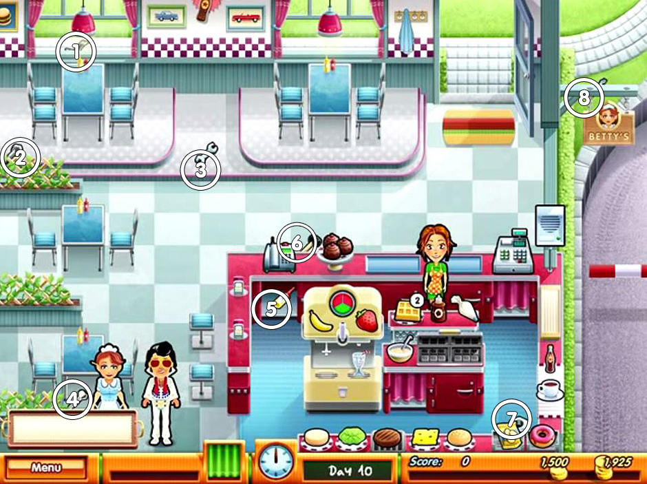 Delicious - Emily's Taste of Fame - Tools Locations