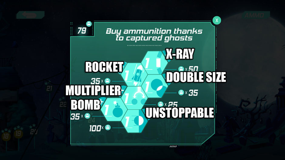 Ghost Cleaner Ammo Types
