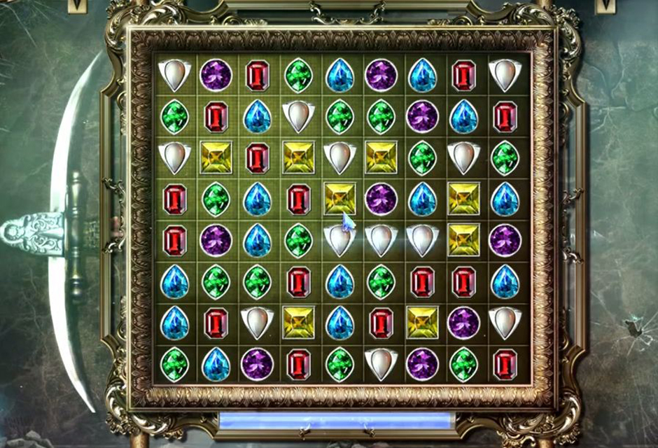 Grim Tales - The Stone Queen - Gems Puzzle