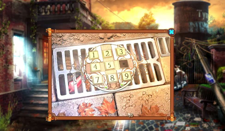 Grim Tales - The Stone Queen - Keypad
