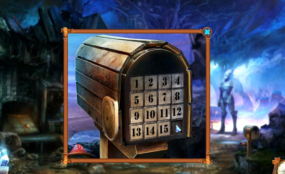 Grim Tales - The Stone Queen - Mailbox Puzzle Solution