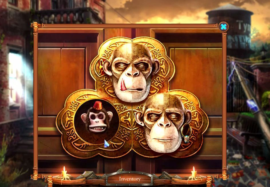 Grim Tales - The Stone Queen - Monkey Head