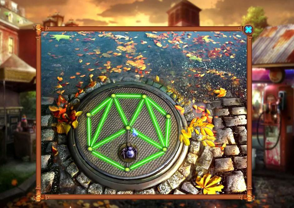 Grim Tales - The Stone Queen - Spider Puzzle