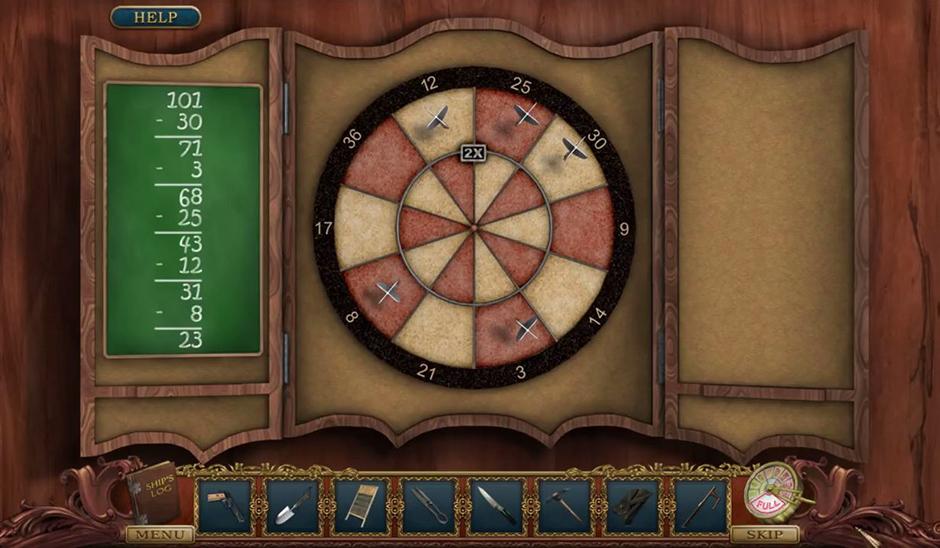 Hidden Mysteries - Return to Titanic - Dartboard