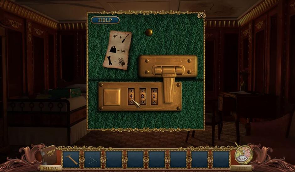 Hidden Mysteries - Return to Titanic - Suitcase Code