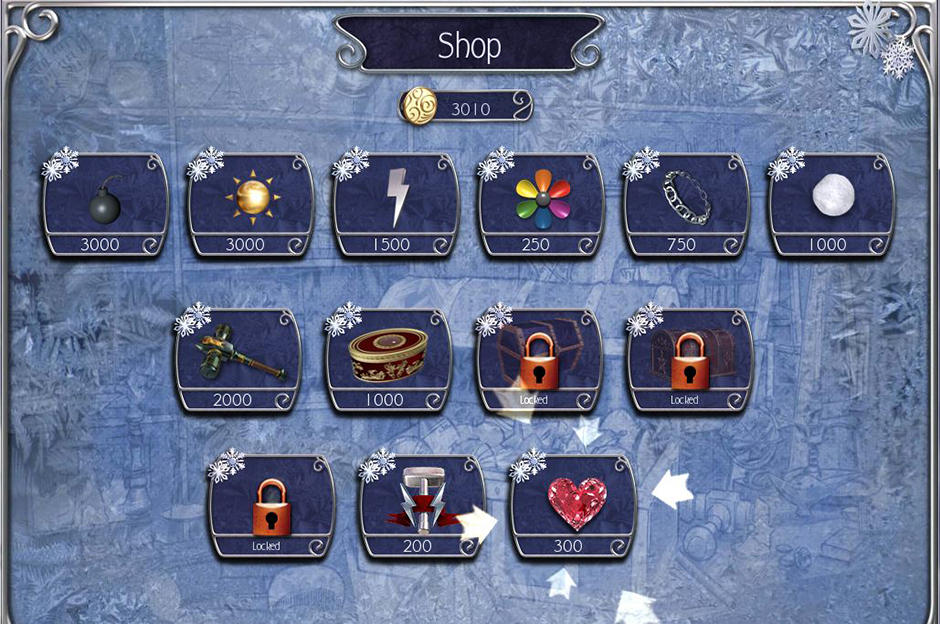 Jewel Match Snowscapes - Spells